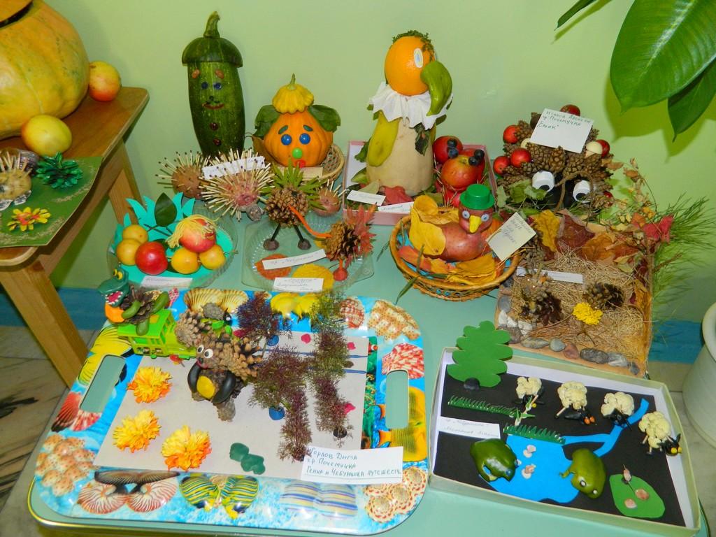 Поделки из овощей (104 фото) - для школы и сада